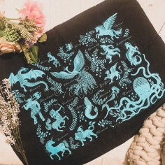 Mythical Monsters Wall Hanging